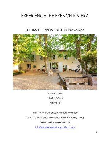 Fleurs De Provence - Provence