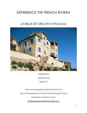 La Belle De Crillon - Provence
