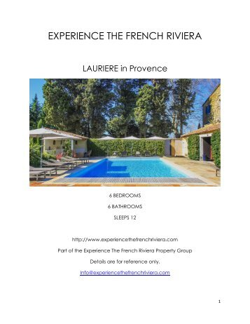Lauriere - Provence