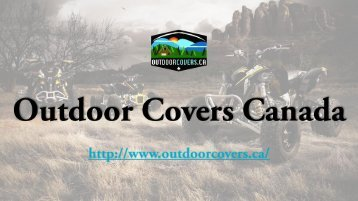 ATV Cover - Outdoor Covers Canada