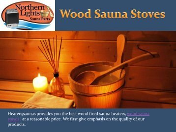 Wood Sauna Stoves