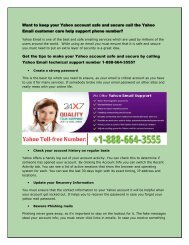 Yahoo Email customer care help support 1-888-664-3555 phone_number