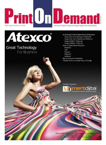 Print On Demand Mart -Nisan 2018