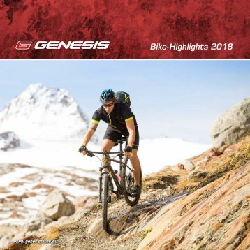GENESIS Bike-Highlights 2018