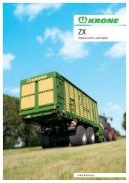 Doppelzweck-Ladewagen www.krone.de - Mediathek