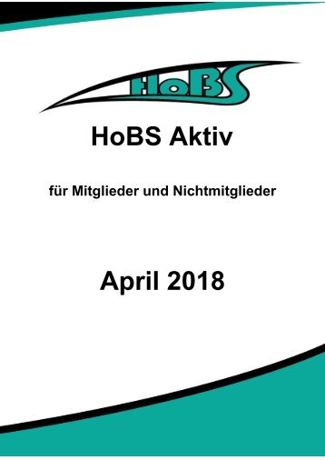 Programm April 2018