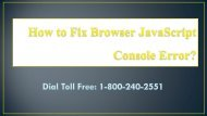 How to Fix Browser JavaScript Console Error 18002402551