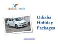 Book Odisha Holiday Packages at Reasonable Prices