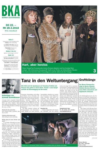 Berner Kulturagenda 2018 N°11