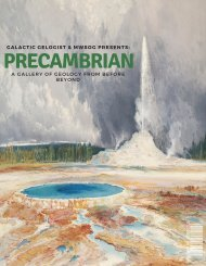 PreCambrian: A Galactic Geologist Special Issue