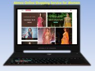 Atmee Online Shopping Service for Women