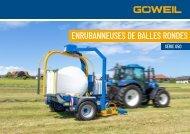 FR | Enrubanneuses de balles rondes | G50 Série | Goeweil