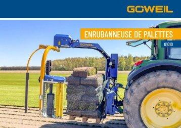 Enrubanneuse de palettes   G1010   Goeweil