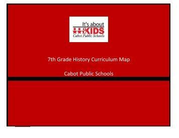 Seventh Grade - Cabot Public Schools