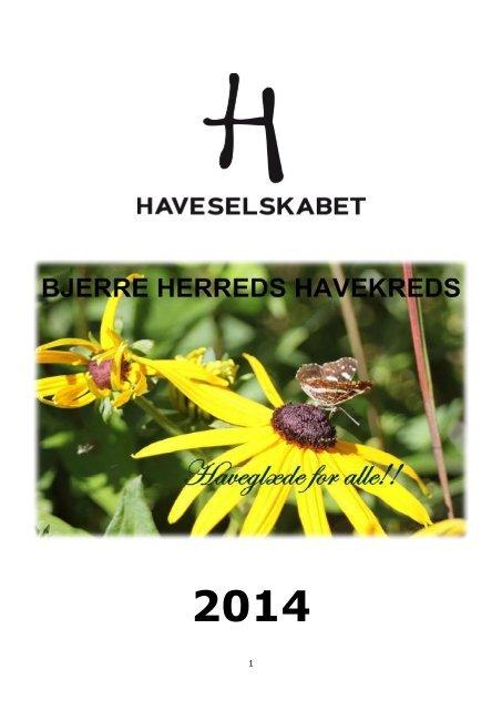 Årsprogram 2014 Bjerre Herred Kreds