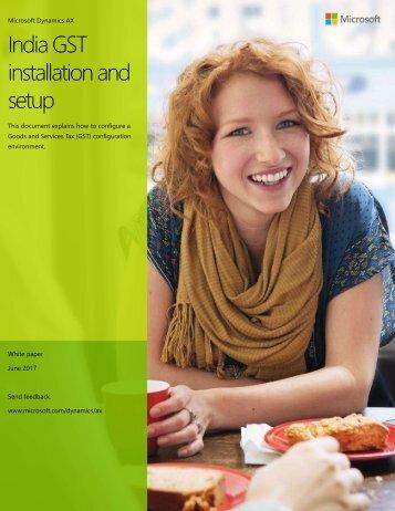 GST Installation guide