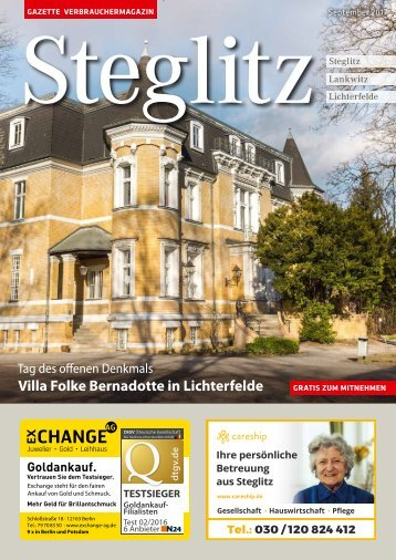 Gazette Steglitz Nr. 9/2017