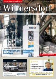 Gazette Wilmersdorf Nr. 9/2017