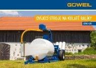 Ovíjecí stroj na kulaté balíky | Série G30 | Goeweil