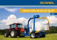 Ovíjecí stroj na kulaté balíky | G2020 | Goeweil