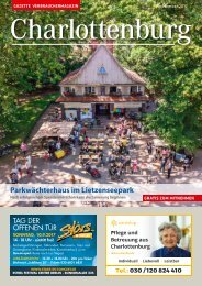 Gazette Charlottenburg Nr. 9/2017