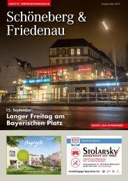 Gazette Schöneberg & Friedenau Nr. 9/2017