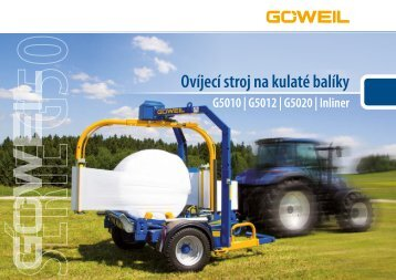 CZ   Ovíjecí stroj na kulaté balíky   G50 Série   Goeweil