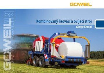 Kombinovaný lisovací a ovíjecí stroj | G5040 Kombi | Goeweil