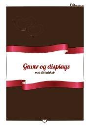 Sig Det Sødt Gaver og Displays katalog