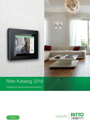 RITTO_Katalog_Intelligente-Gebaeudekommunikation_2018_DE