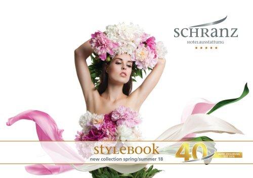 Hotelausstattung Schranz - Stylebook spring/summer 2018