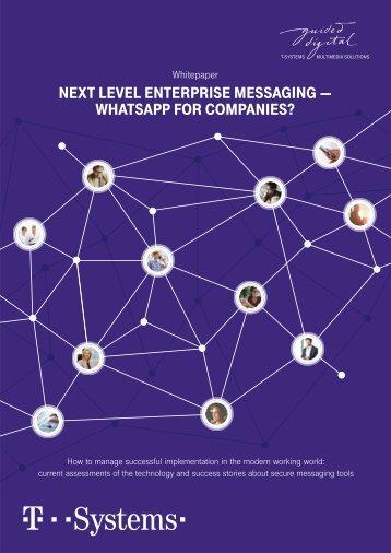 Whitepaper_Next Level Enterprise Messaging_ENGL_1-8
