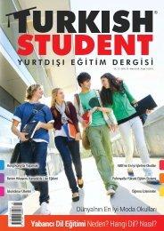 Turkish Student Yurtdışı Eğitim Dergisi // Sayı:23