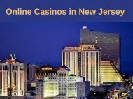 Online Casinos in New Jersey