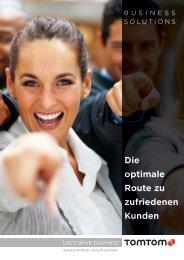 Die optimale Route zu zufriedenen Kunden - Cartec GmbH