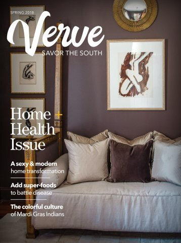Verve Spring 2018 Home + Health Issue