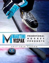 Martini Vispak Hockey Products