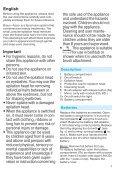 Braun 800, 801, 810, 820, 821, 830, 831, 832, 851, 852, 853 - 810,  820,  830,  831,  832,  Face Manual (DE, UK, FR, ES, PT, IT, NL, DK, NO, SE, FI, PL, CZ, SK, HU, HR, SL, TR, RO, BG, RU, UA, ARAB) - Page 7