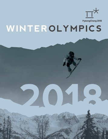2018 Winter Olympics Publication