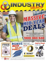 Industry Deals NSW|ACT April 2018 Edition