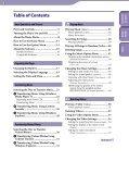 Sony NWZ-E445 - NWZ-E445 Consignes d'utilisation Anglais - Page 3