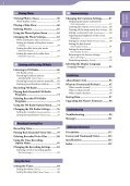 Sony NWZ-E445 - NWZ-E445 Consignes d'utilisation Anglais - Page 4