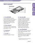 Sony NWZ-E445 - NWZ-E445 Consignes d'utilisation Italien - Page 5