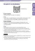 Sony NWZ-E445 - NWZ-E445 Consignes d'utilisation Néerlandais - Page 7