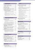 Sony NWZ-E445 - NWZ-E445 Mode d'emploi Croate - Page 4