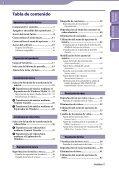 Sony NWZ-E445 - NWZ-E445 Consignes d'utilisation Espagnol - Page 3