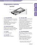 Sony NWZ-E445 - NWZ-E445 Consignes d'utilisation Espagnol - Page 5