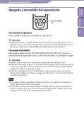 Sony NWZ-E445 - NWZ-E445 Consignes d'utilisation Espagnol - Page 7