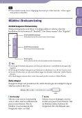 Sony NWZ-E445 - NWZ-E445 Consignes d'utilisation Suédois - Page 2