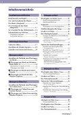 Sony NWZ-E445 - NWZ-E445 Consignes d'utilisation Allemand - Page 3
